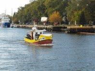 łódka rybacka w Kołobrzegu